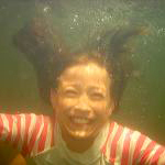 underwater shot so
